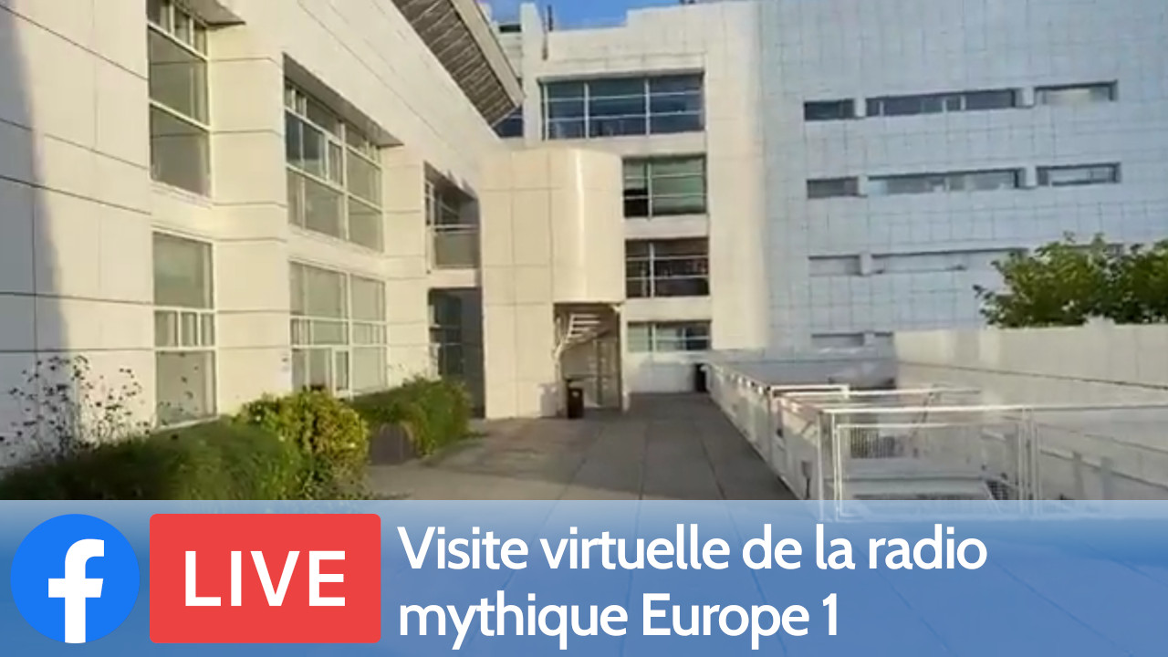 Visite virtuelle de la radio mythique Europe 1